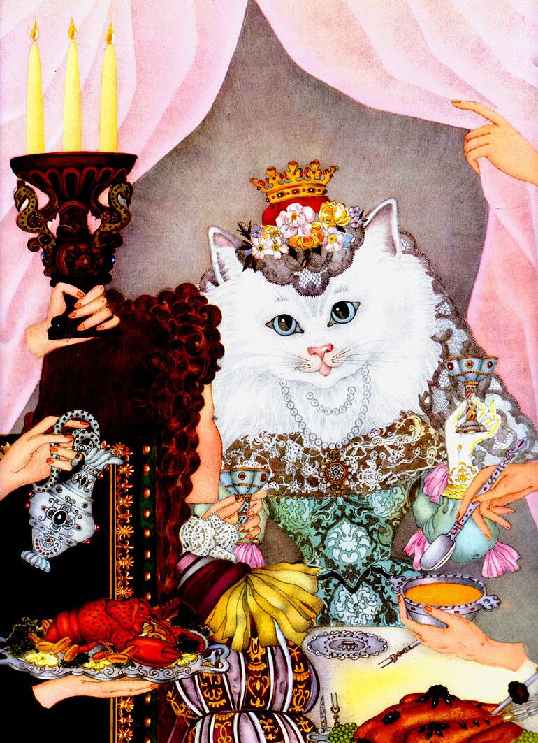 Adrienne Segur. Queen of the cats