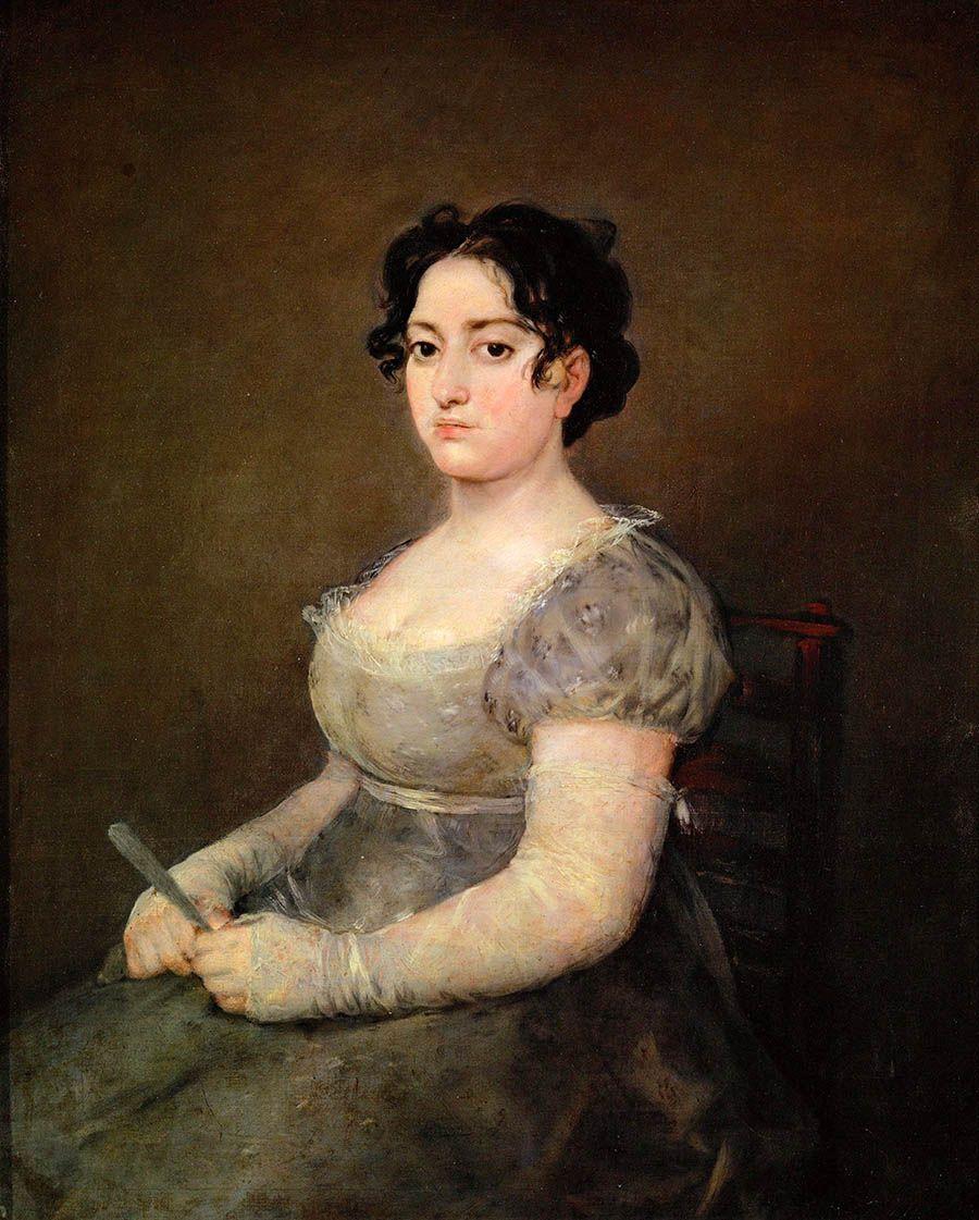 Франсиско Гойя. Женщина с веером