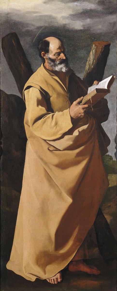 Франсиско де Сурбаран. Апостол Андрей Первозванный