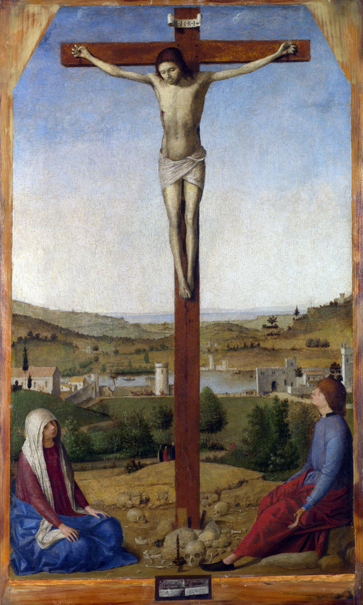 Антонелло да Мессина. Распятие Христа
