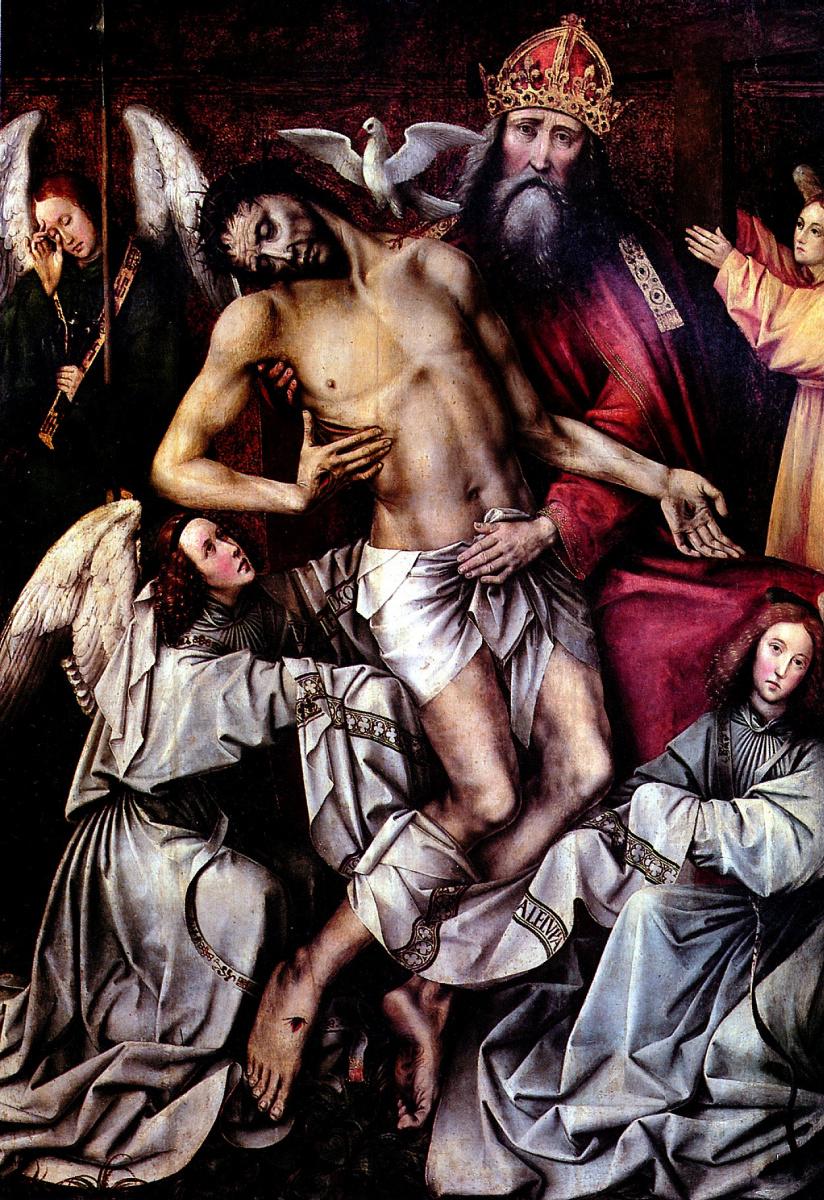 Котер Колин Де. Новозаветная Троица с мертвым Христом