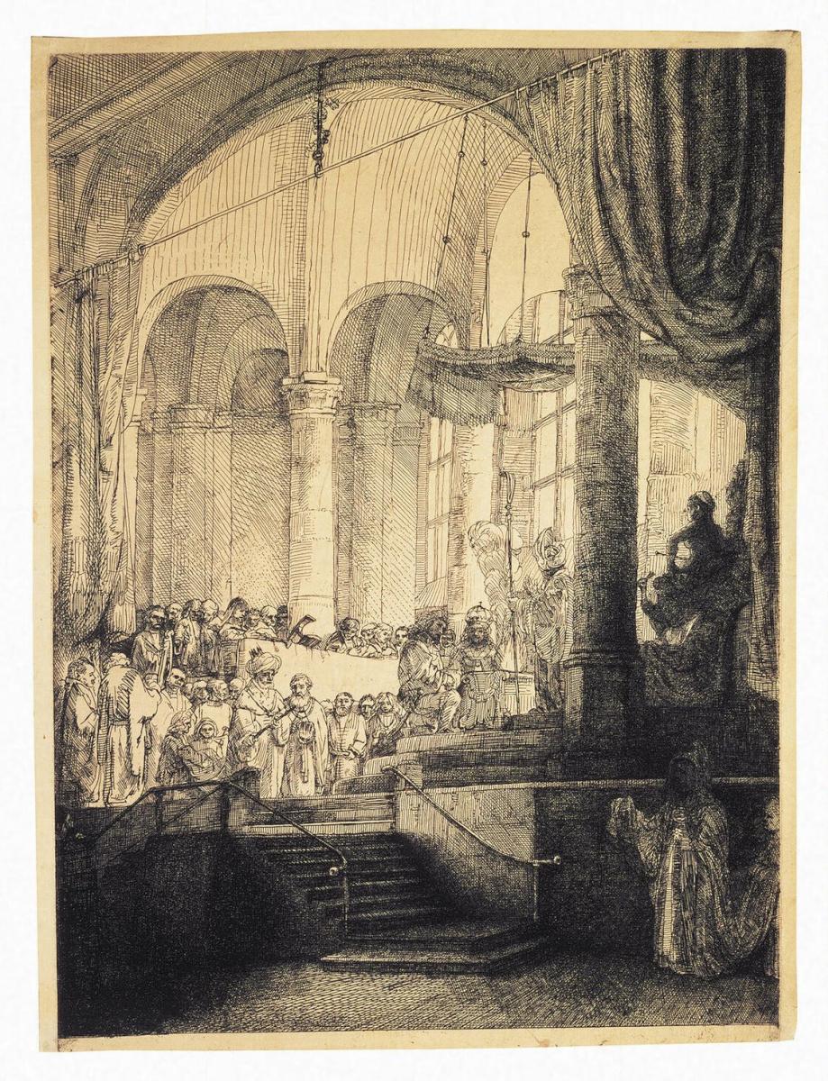 Рембрандт Ван Рейн. Медея, или свадьба Язона и Креусы