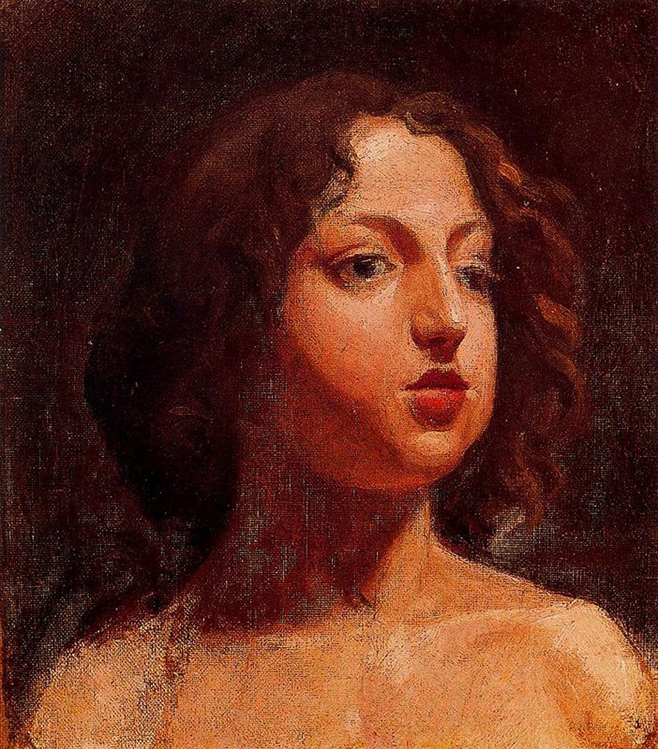 Пабло Пикассо. Голова девушки