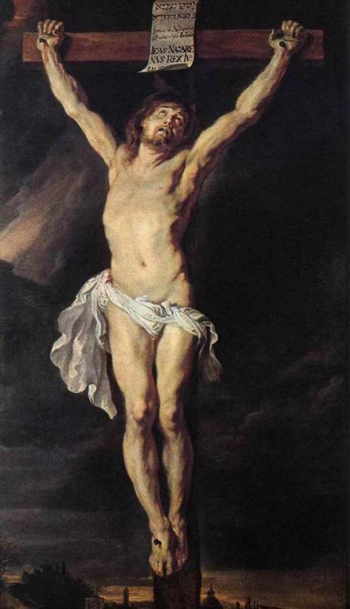 Питер Пауль Рубенс. Распятый Христос