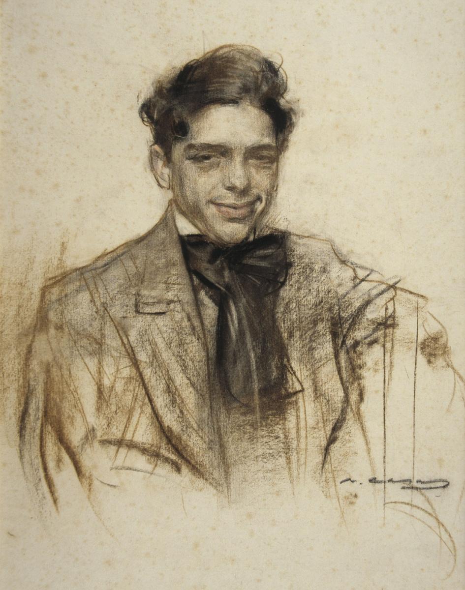 Рамон Касас Карбо. Портрет Луиса Багария
