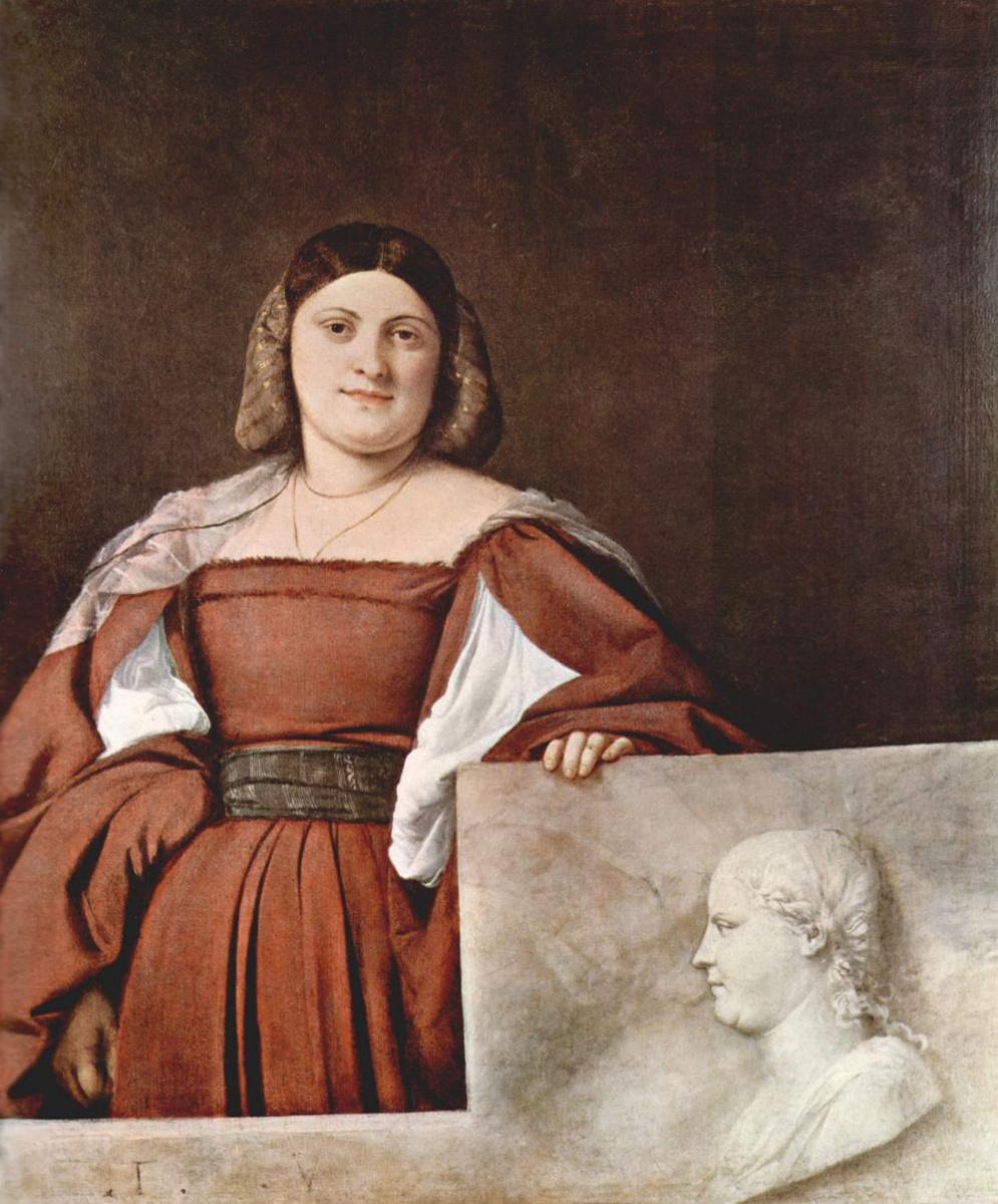 Тициан Вечеллио. Женский портрет