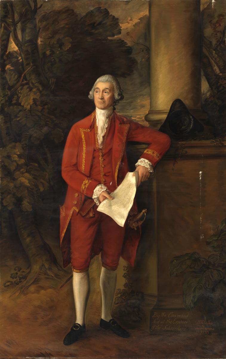 Thomas Gainsborough. Portrait of John Elda from Safford Hall (II)