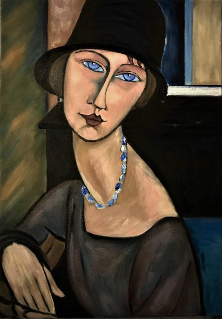 Inga Kotlyarskaya. Based on A. Modigliani