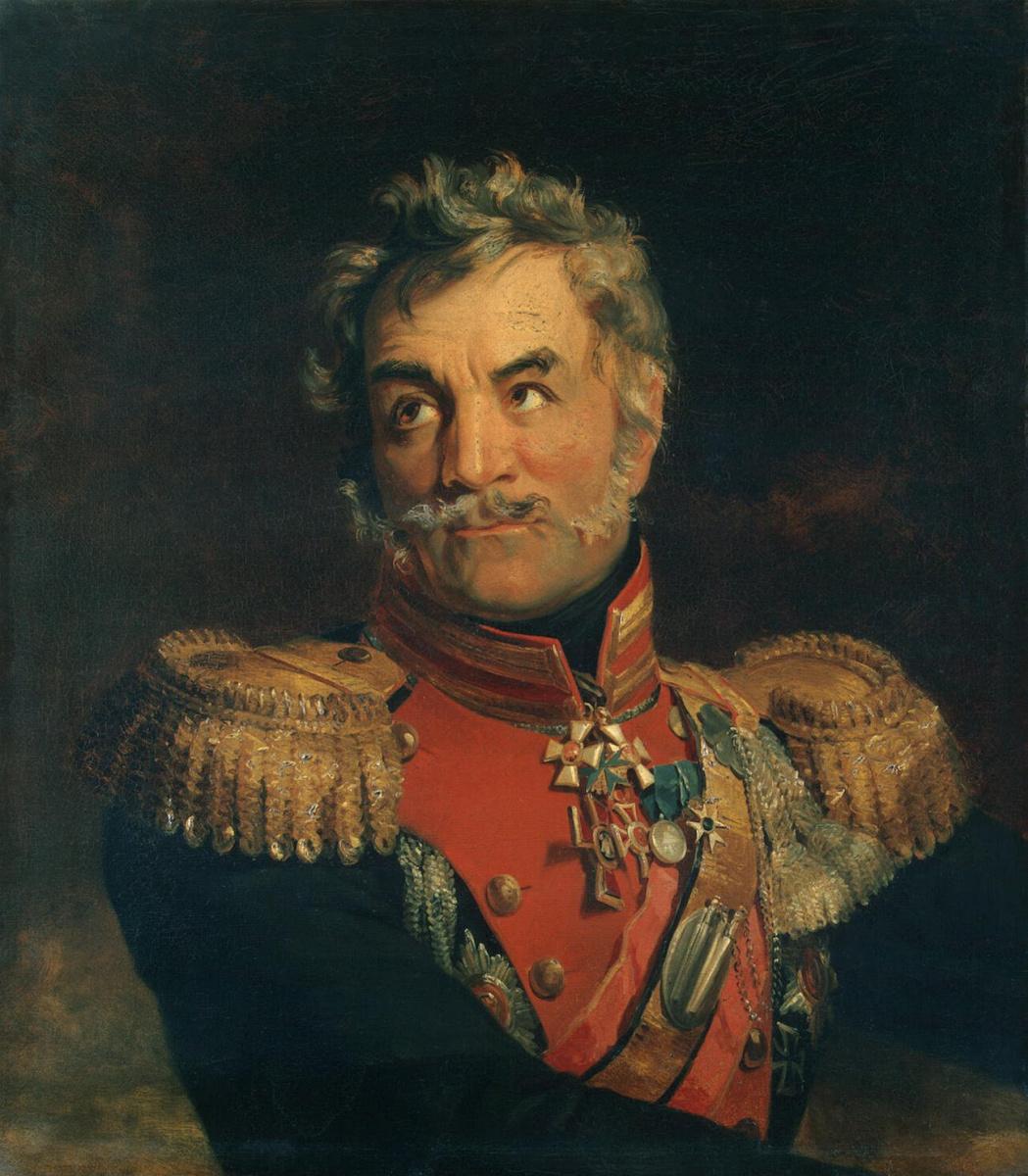 Джордж Доу. Портрет Антона Степановича Чаликова