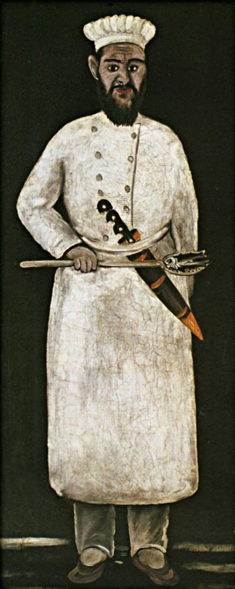 Нико Пиросмани (Пиросманашвили). Повар