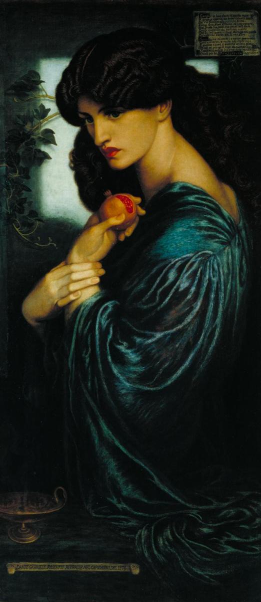 Dante Gabriel Rossetti. Proserpine