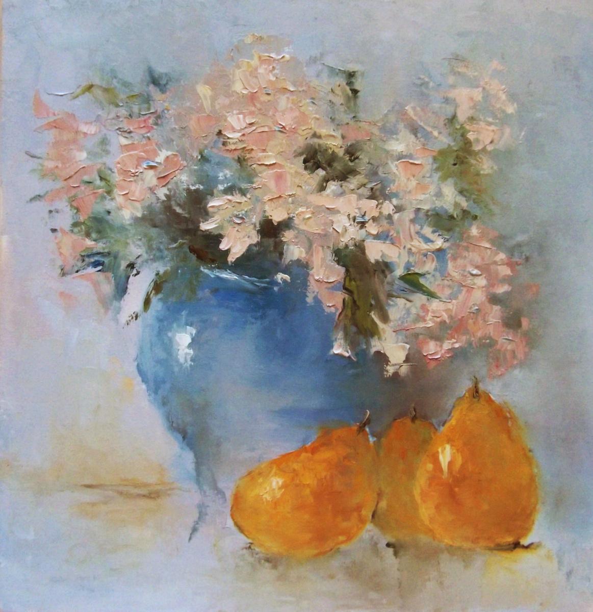 Elena Yudina. Morning still life with pears