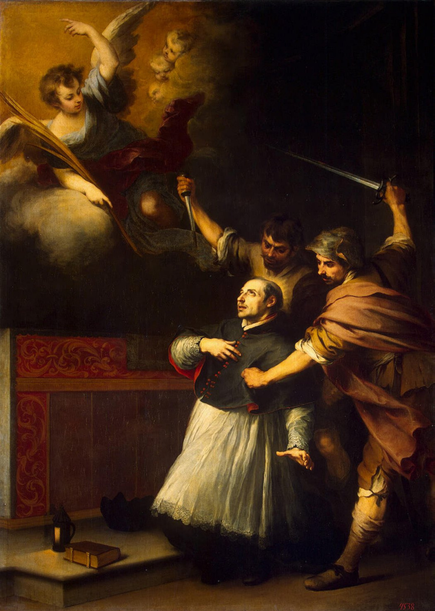 Бартоломе Эстебан Мурильо. Убийство инквизитора Педро де Арбуэса