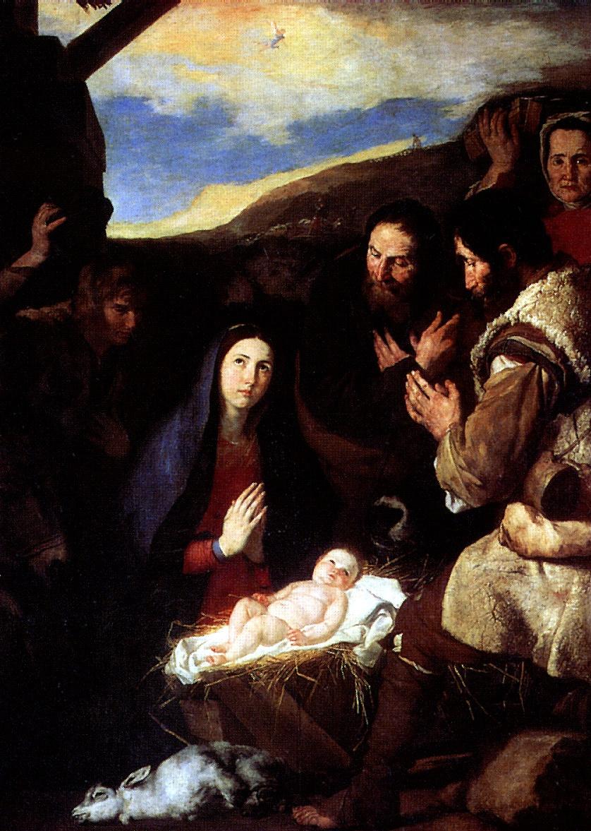 Хосе де Рибера. Поклонение пастухов
