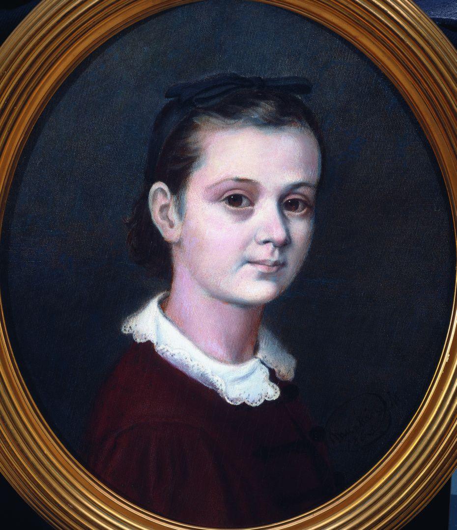 Михай Либ Мункачи. Портрет дочери Эмиля Мункачи