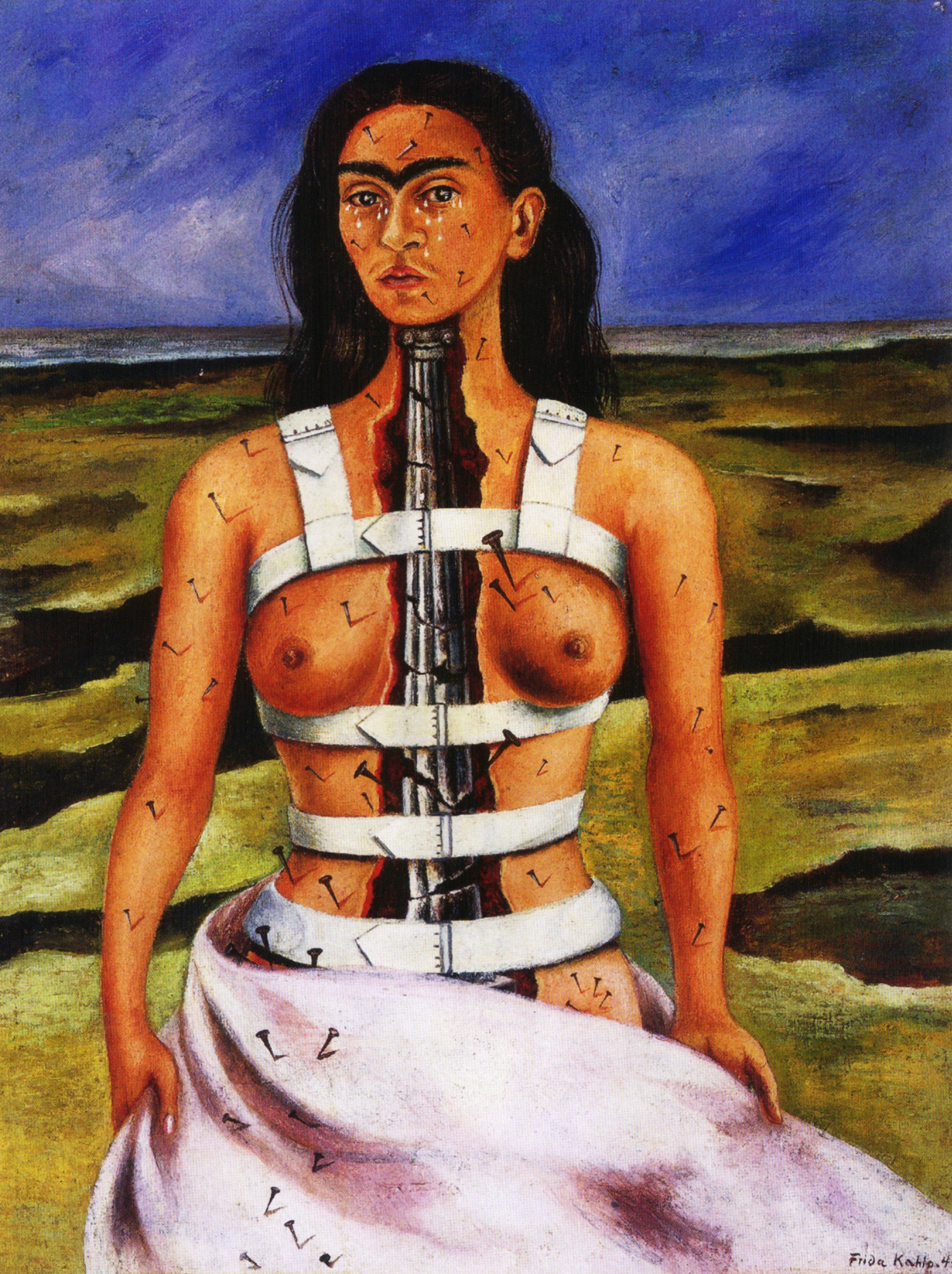 Frida Kahlo. Broken column
