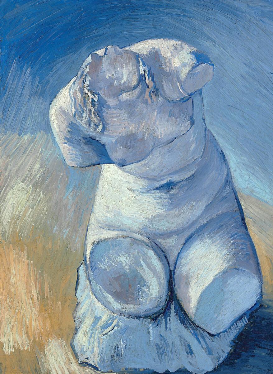 Винсент Ван Гог. Гипсовый женский торс