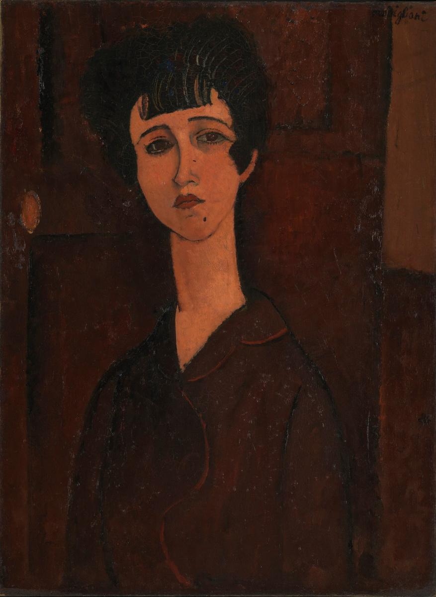 Амедео Модильяни. Портрет девушки