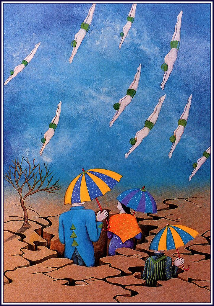 Орна Беншошан. Под зонтами