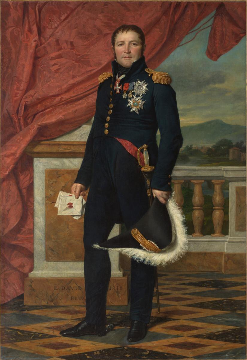 Jacques-Louis David. General Étienne-Maurice Gérard