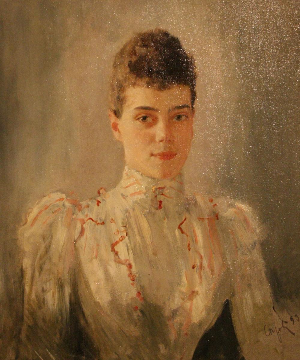 Valentin Serov. Portrait of Grand Duchess Xenia Alexandrovna