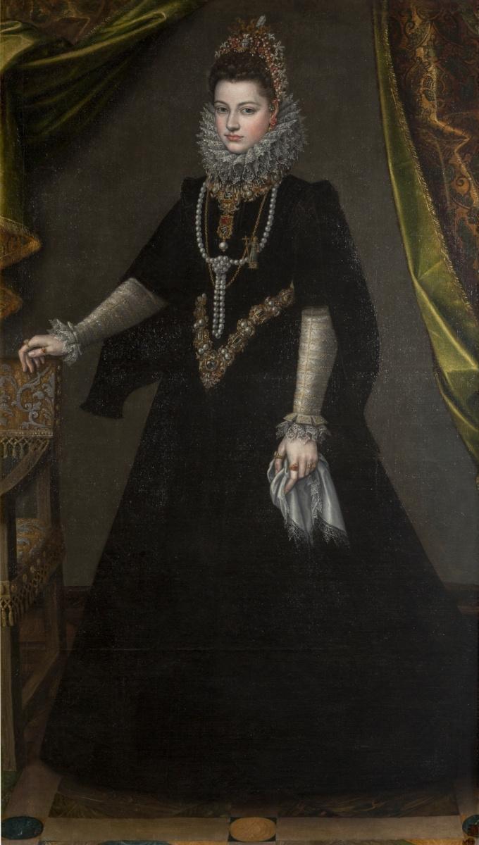 Софонисба Ангвиссола. Инфанта Изабелла Клара Евгения