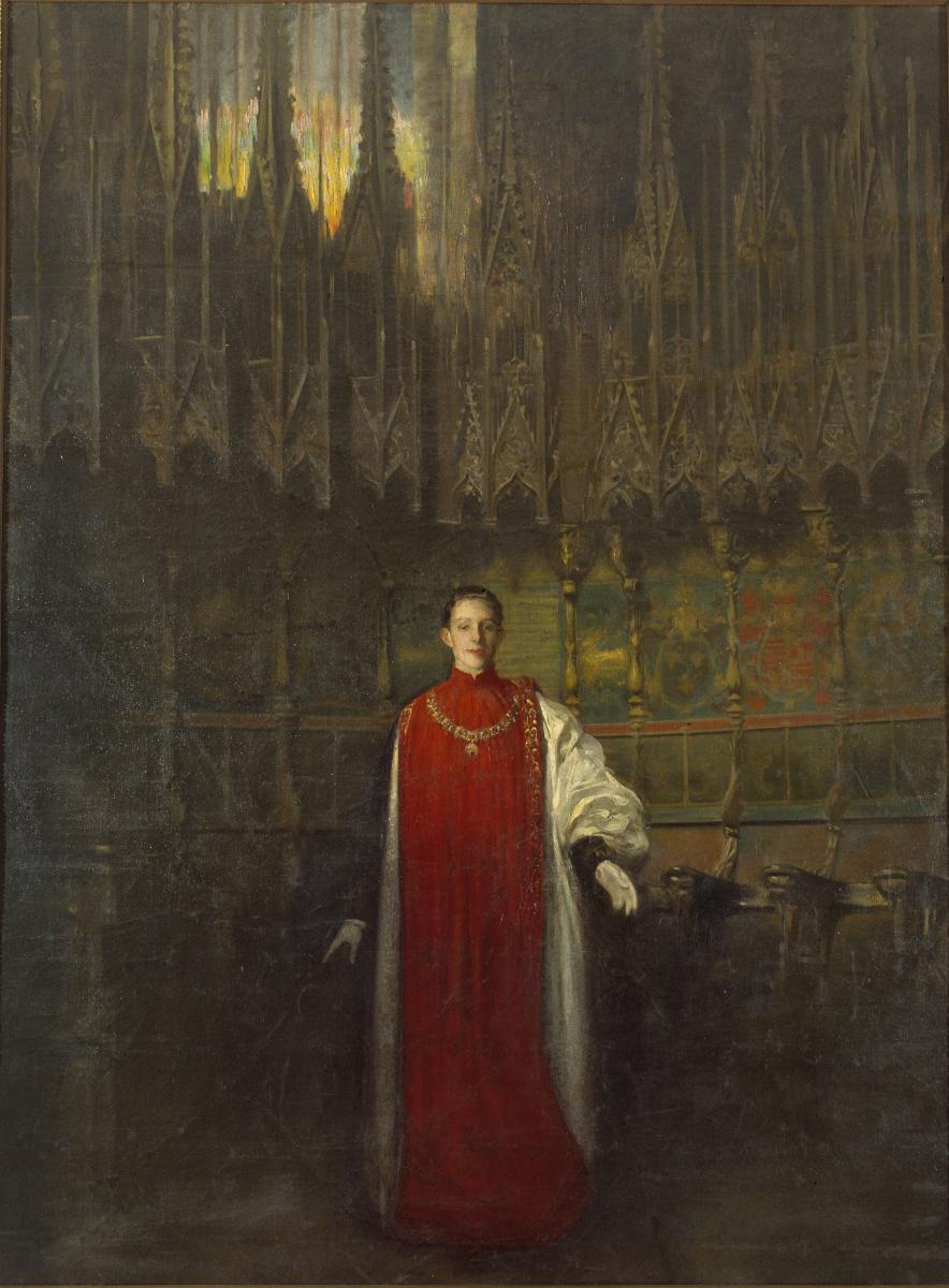 Рамон Касас Карбо. Портрет короля Альфонсо XIII