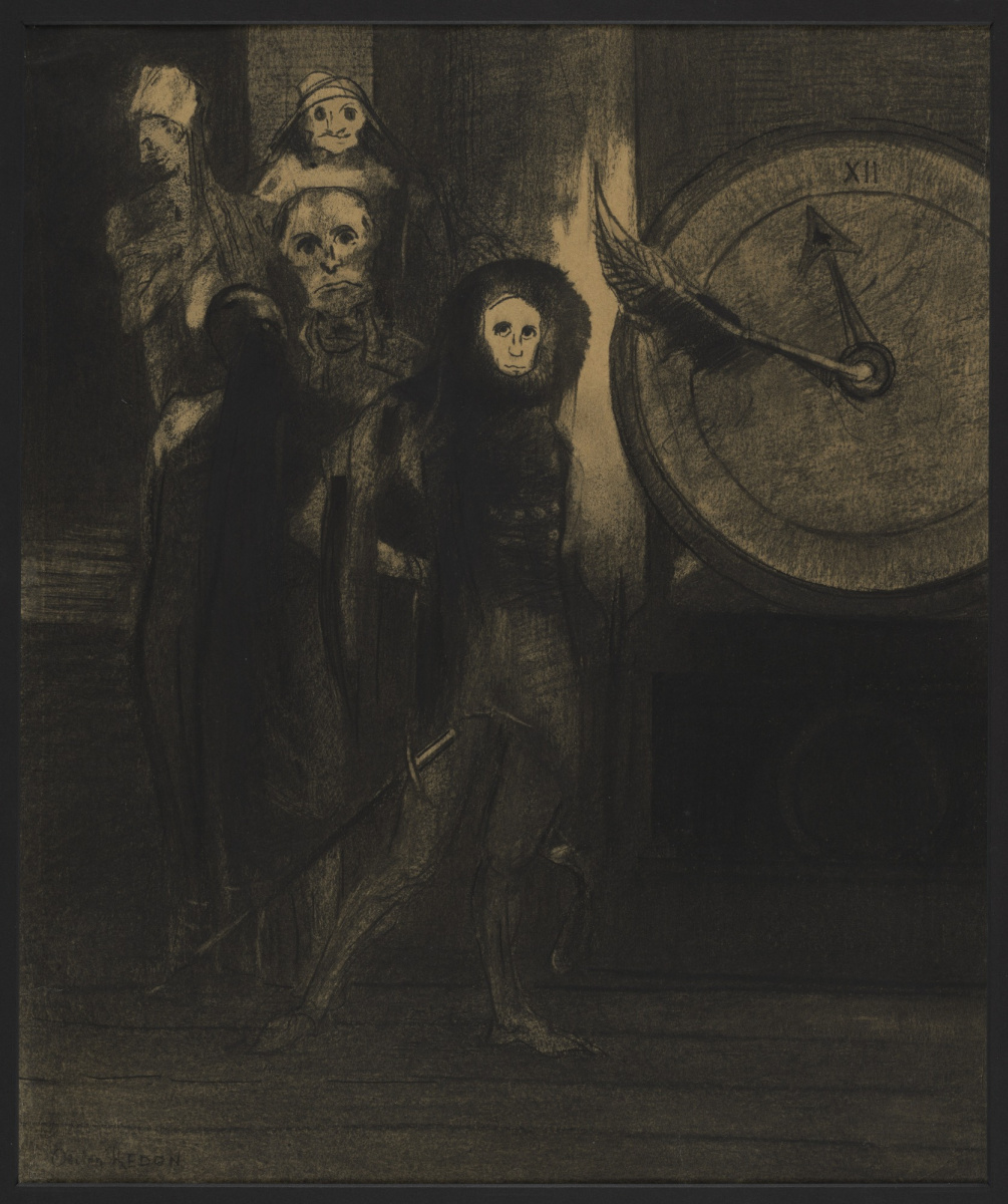 Odilon Redon. The Masque Of The Red Death
