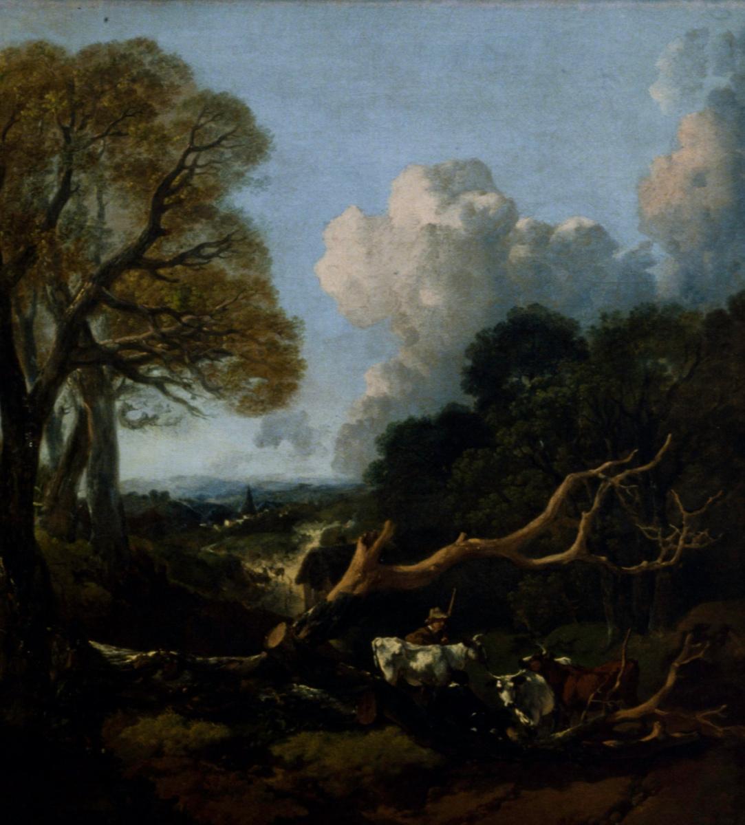 Thomas Gainsborough. Fallen tree