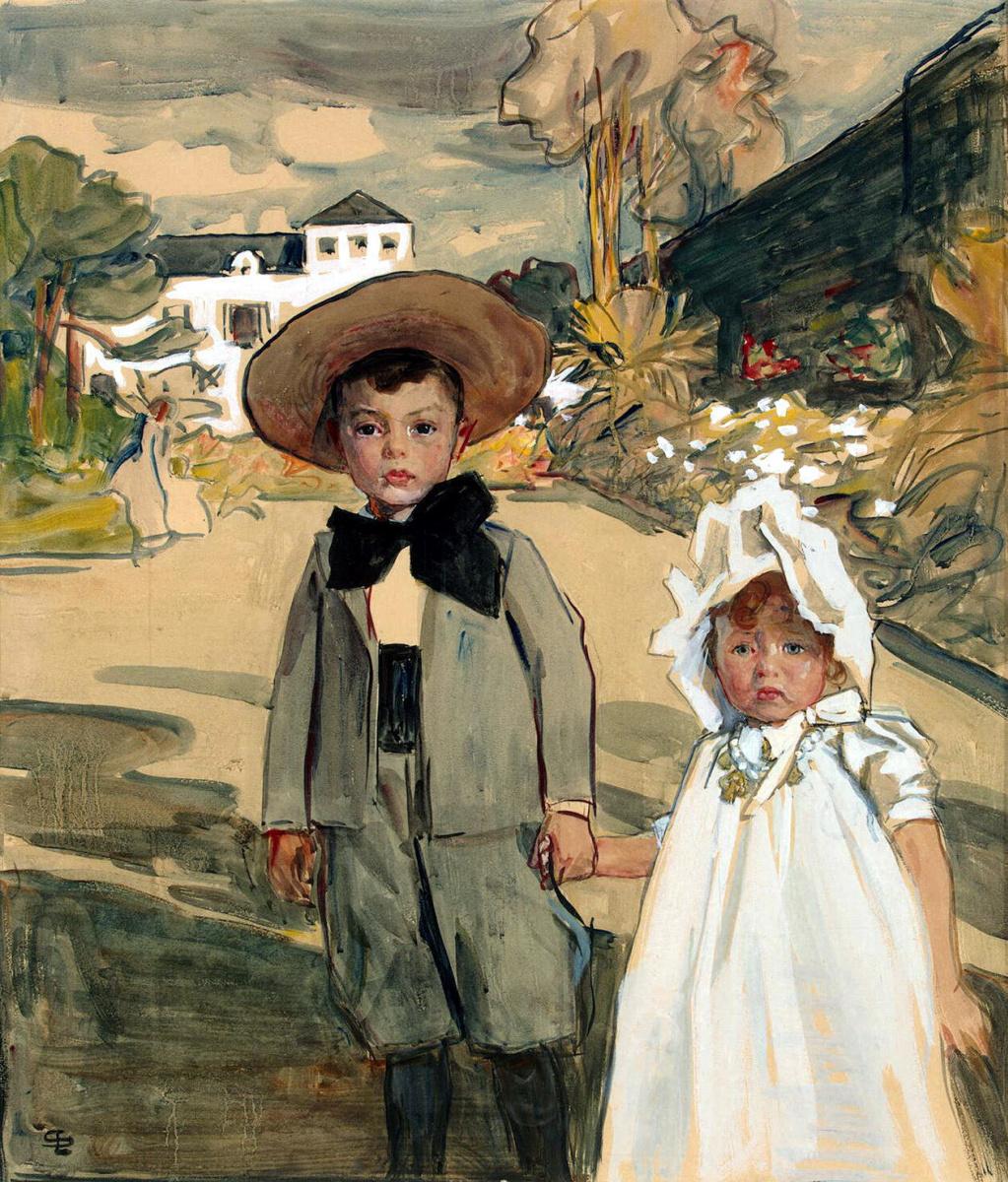 Люсьен Симон. Дети художника