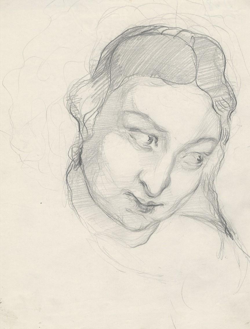 Natalia Nikolaevna Agapieva - Zakharova. Female portrait
