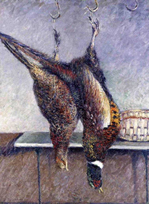 Гюстав Кайботт. Два висящих фазана