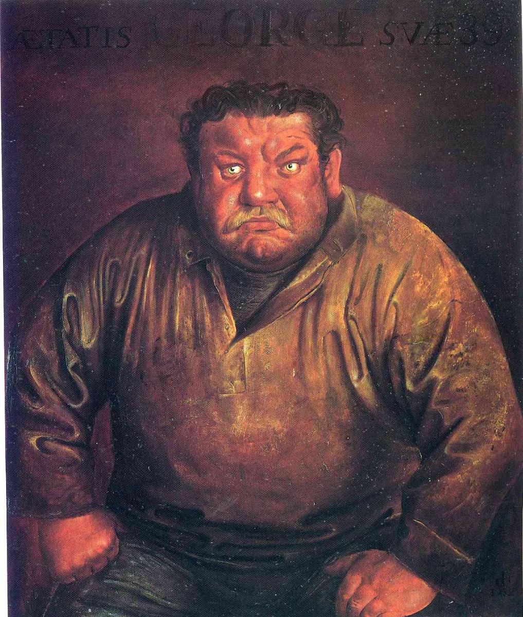 Отто Дикс. Портрет Генриха Георгия