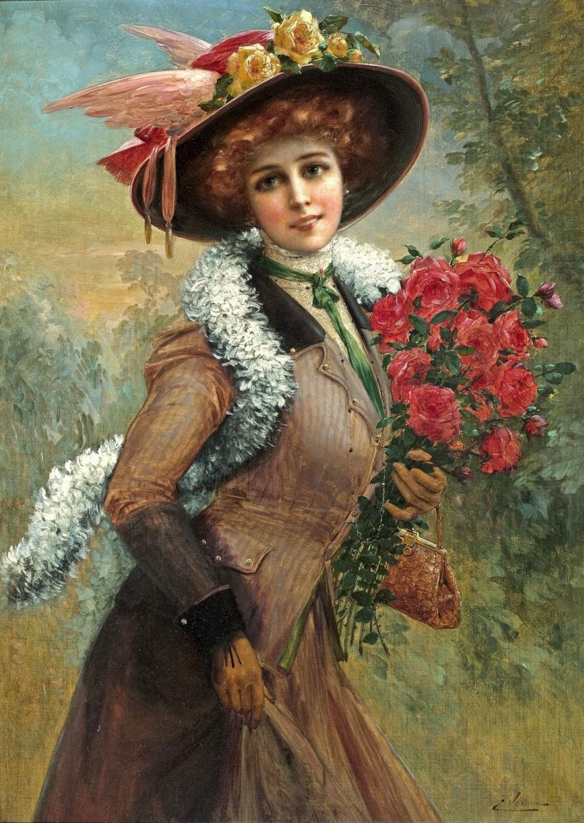 Эмиль Вернон. Прекрасна как роза.