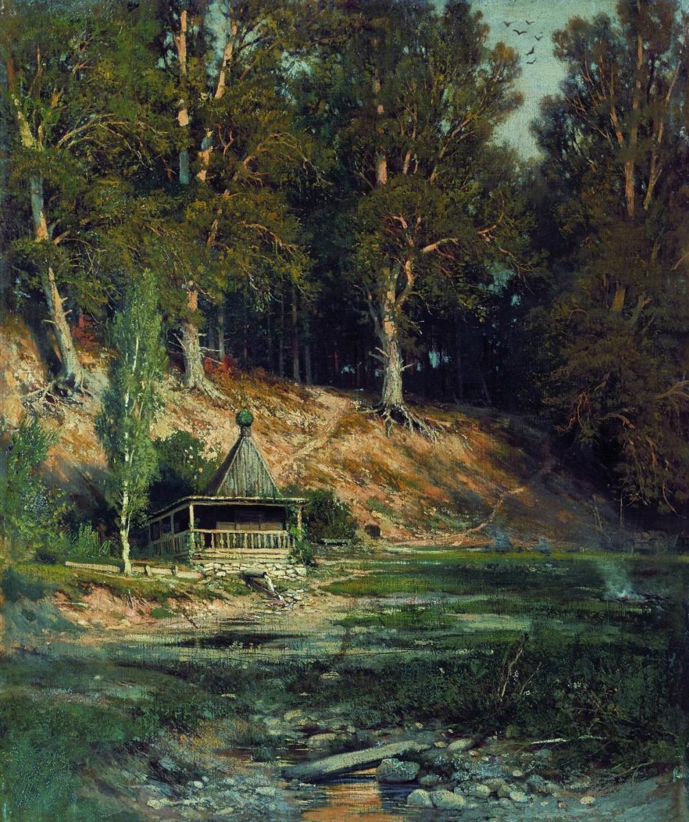 Иван Иванович Шишкин. Часовня в лесу