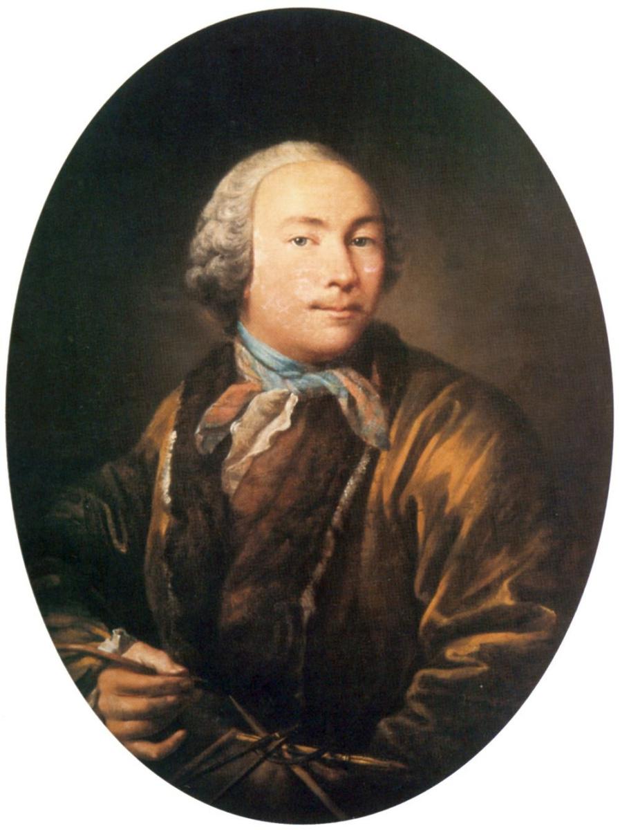 Иван Петрович Аргунов. Автопортрет