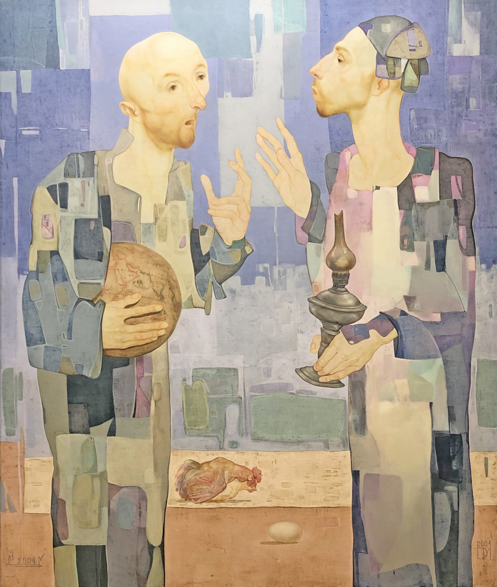 Mamuka Didebashvili. Two philosophers