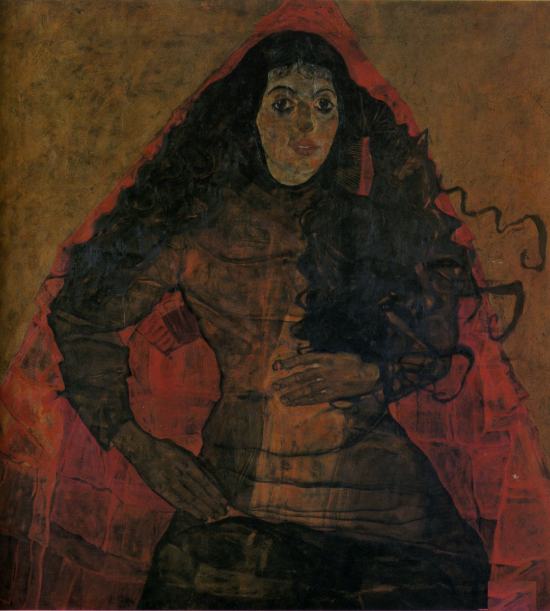 Egon Schiele. Portrait Work Engel