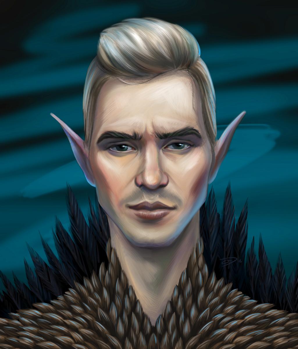 Alexander Dmitrievich Svistunov. Dark Elf