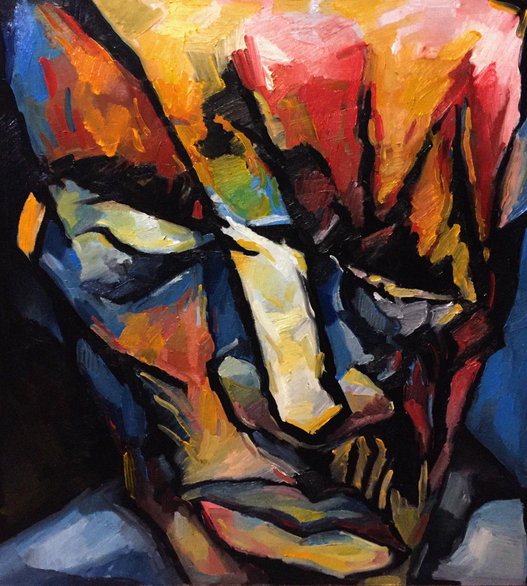 Anton Evdokimow. Self-portrait 2018