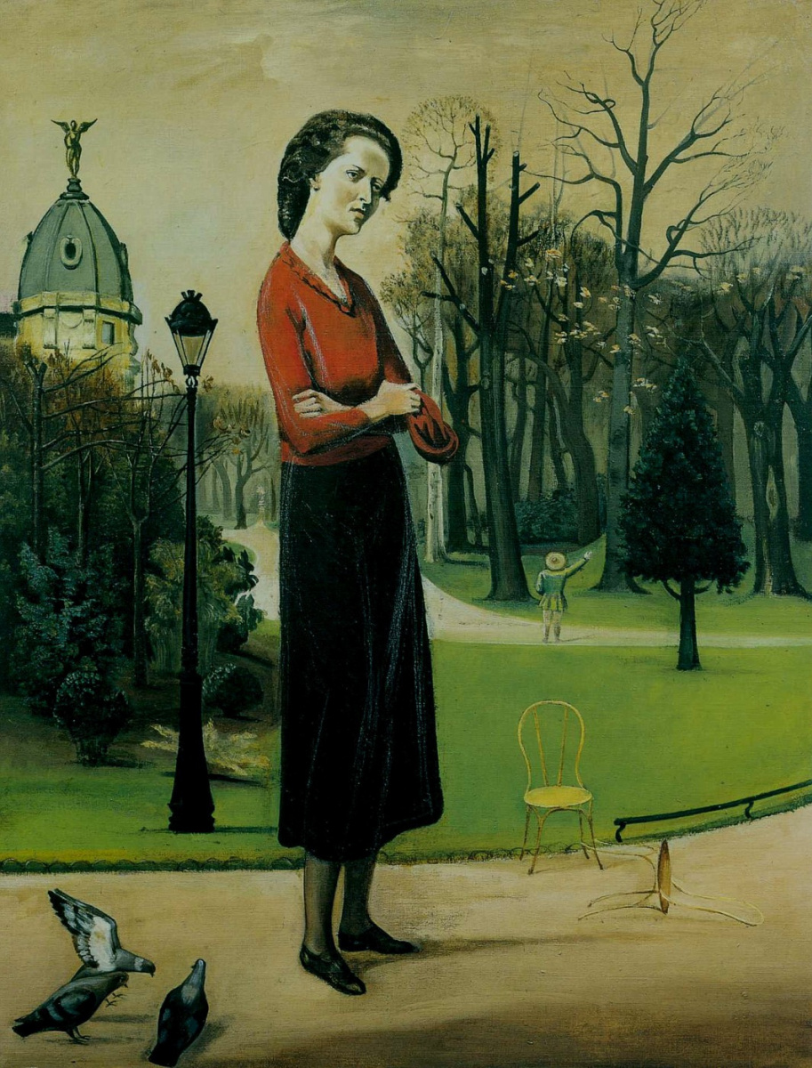 Бальтюс (Бальтазар Клоссовски де Рола). Портрет Лейлы Каэтани