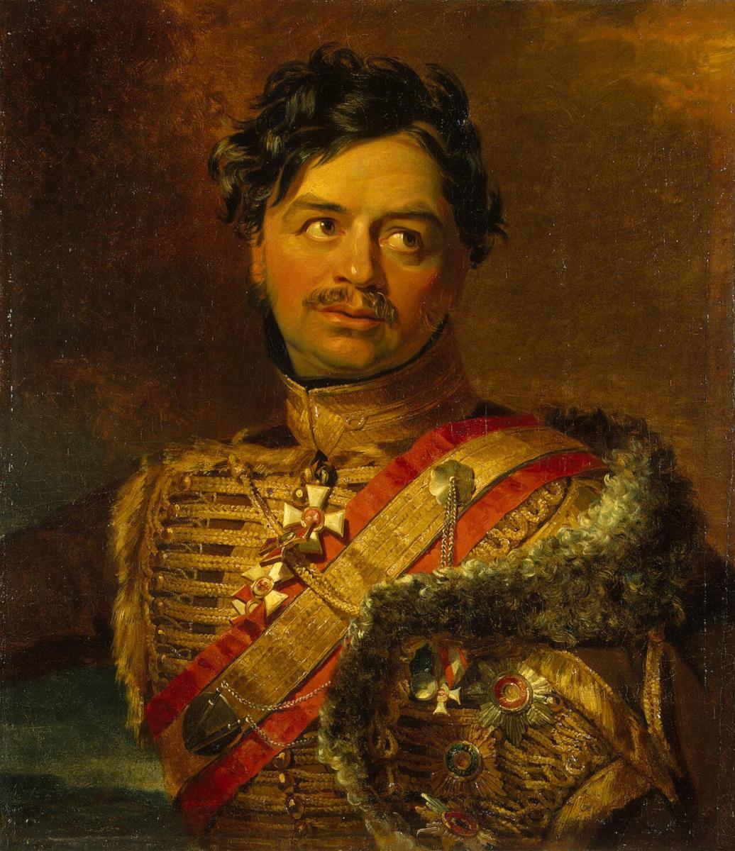 George Dow. Portrait of Illarion Vasilchikov