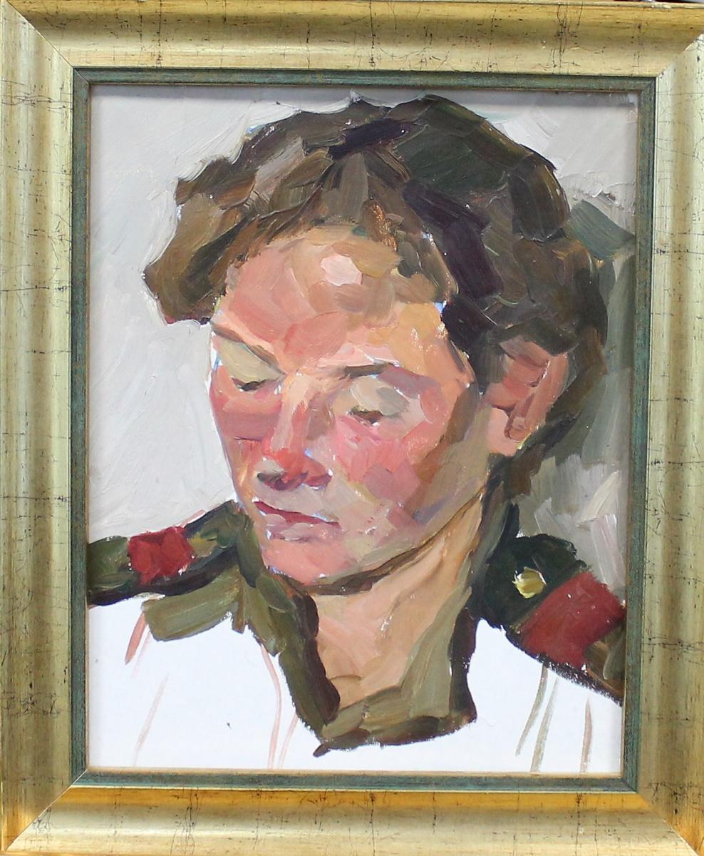 Orest Georgievich Betekhtin. Portrait of a girl