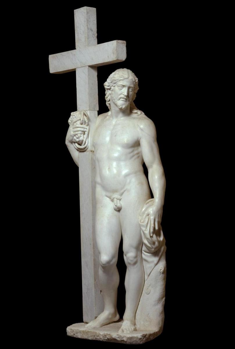 Микеланджело Буонарроти. Воскресший Христос