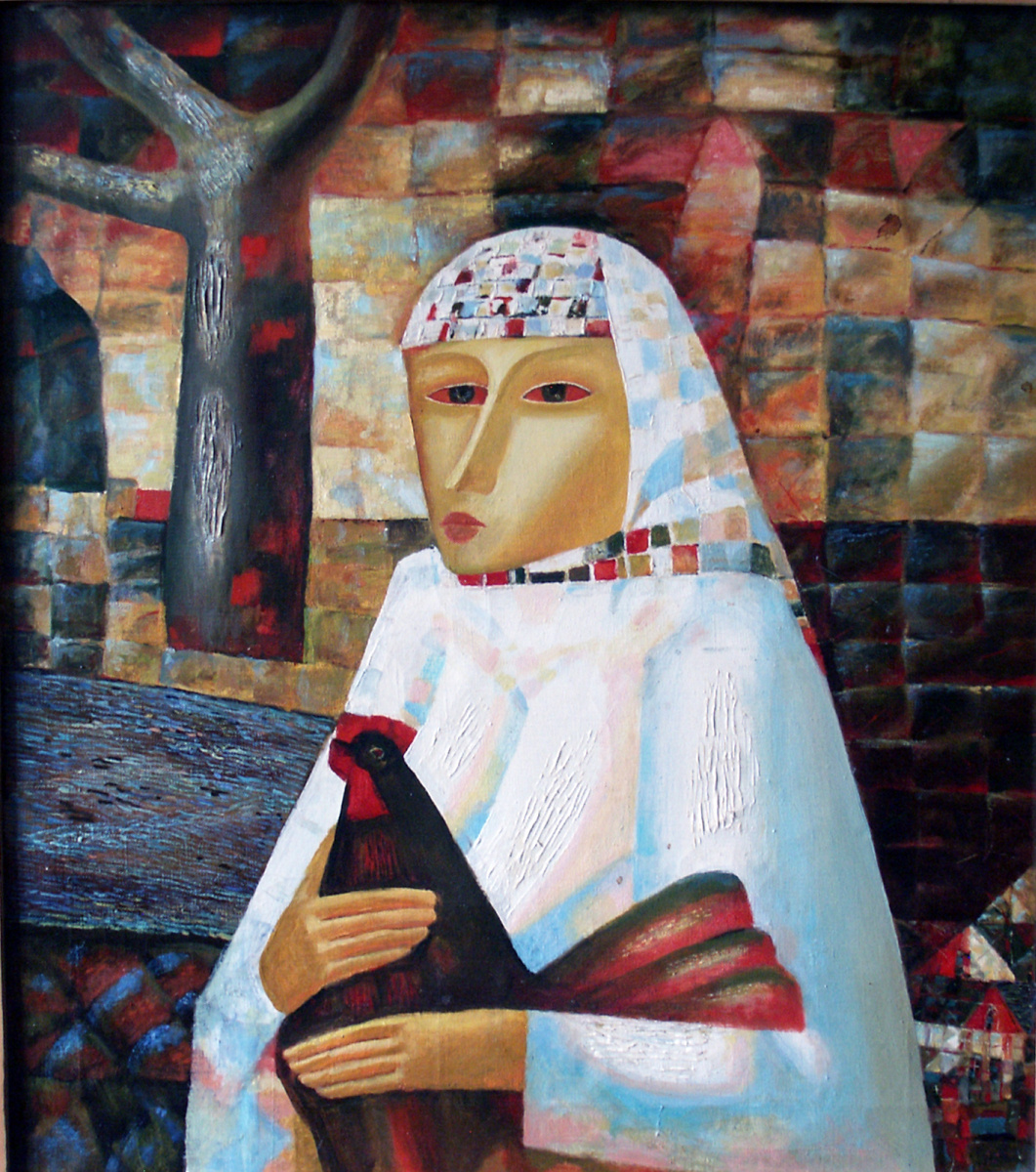 Yuri Lavrentiev. Peasant woman