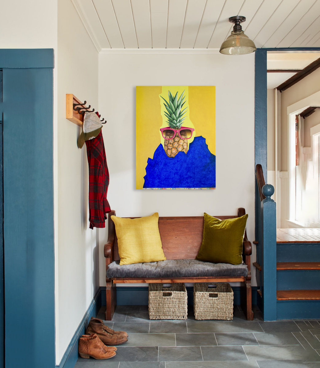 "Pop Art Acrylic Painting ""Hot summer. Hawaii..."""