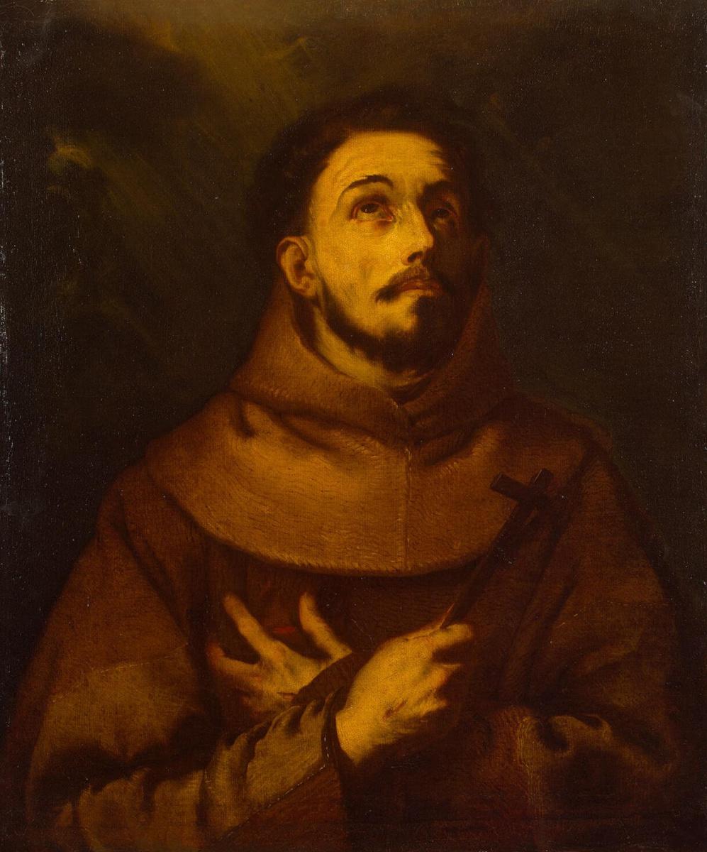Лука Джордано. Святой Франциск