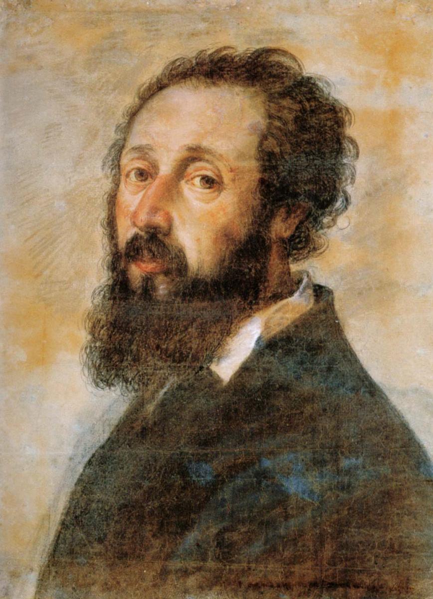 Giulio Romano. Self-portrait