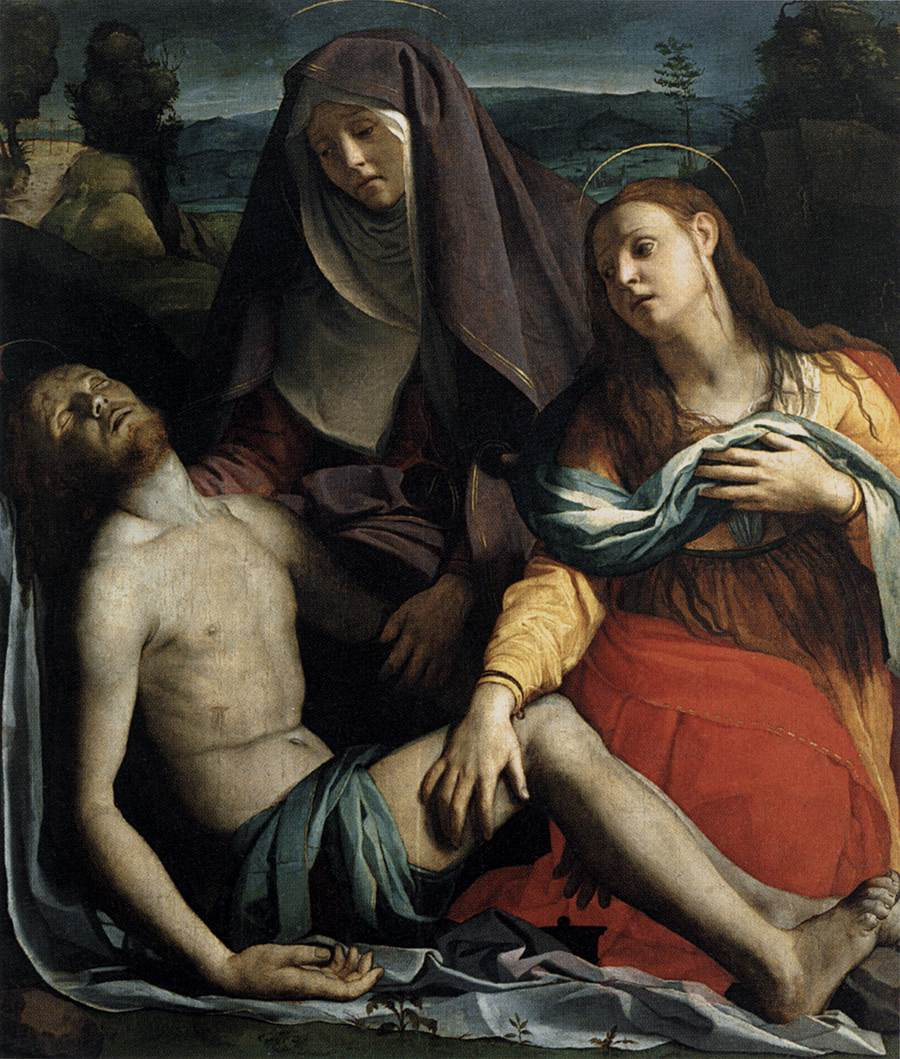 Agnolo Bronzino. Pieta