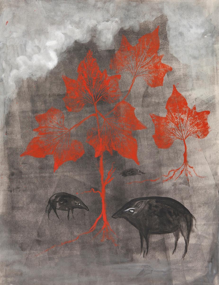 Леонора Каррингтон. Животные в лесу